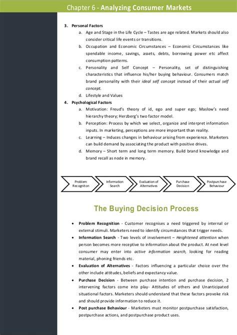 Marketing Management 11ed summary of marketing management 11ed chapter 6
