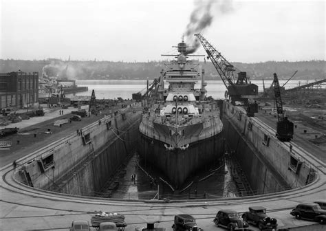 public boat launch port dover file uss mississippi bb 41 in dry dock puget sound ns