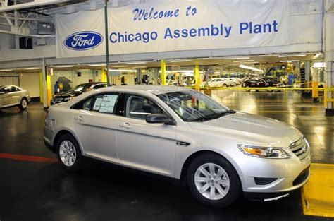 ford production plants ford taurus production plant