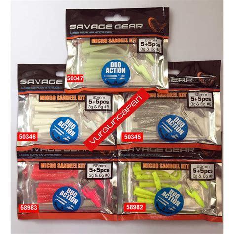 savage gear lrf micro sandeel kit lrf silikon yem ncom