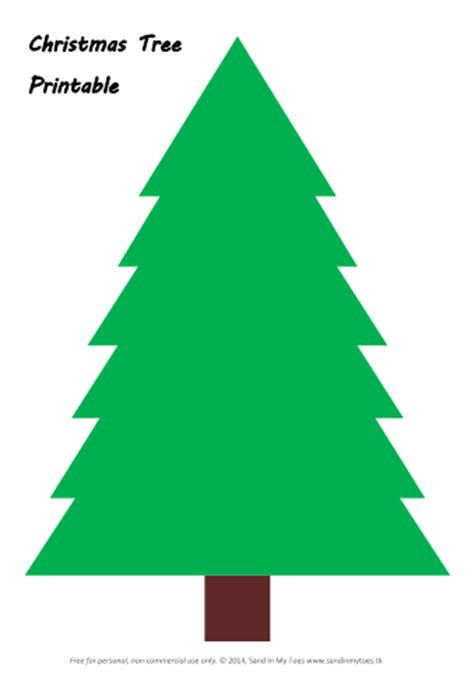 Free Printable Green Christmas Tree | busy hands making christmas trees and free printable