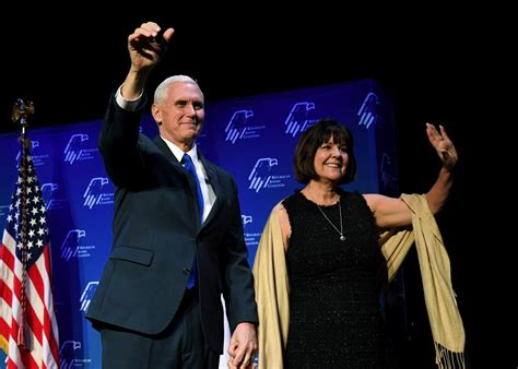 mike pence wife mike pence s tight relationship with his wife doesn t mean