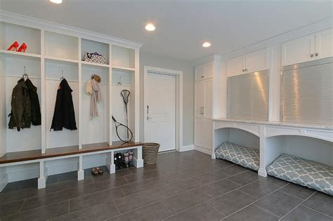 Entry Way Shoe Bench by Laundry Rooms Built In Dog Beds Design Ideas