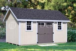 backyard storage shed plans 12 x 16 gable roof d1216g
