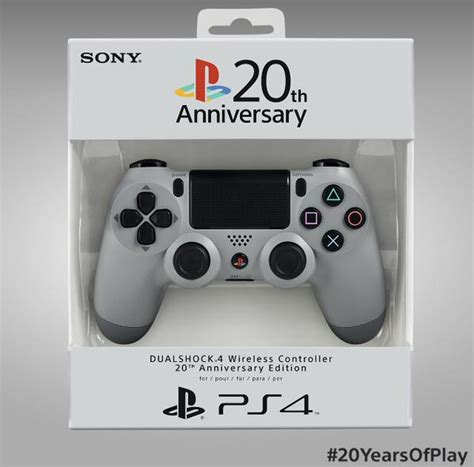 New Stick Ps4 Anniversary 20th Original ps4 manette psone next stage