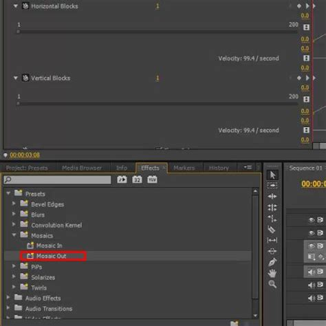 adobe premiere pro presets how to use presets in adobe premiere pro cs6 howtech
