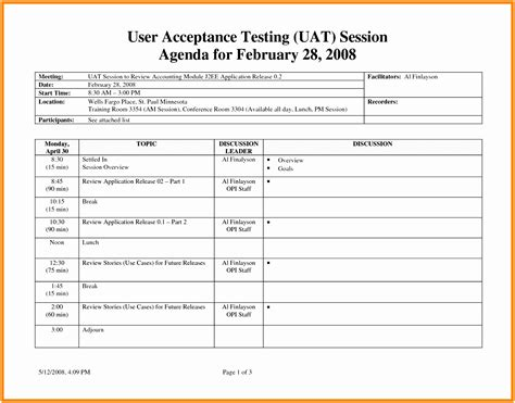 simple test report template 7 factory acceptance test plan template iprye templatesz234