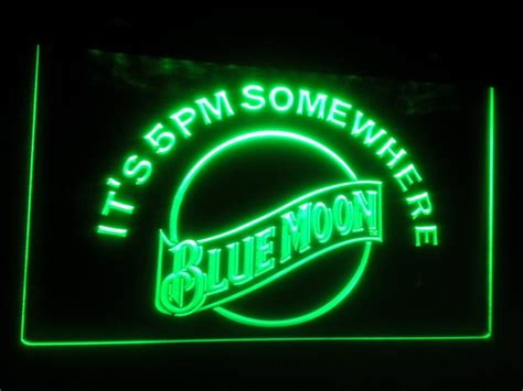 neon light signs cheap cheap b 102 blue moon led sign neon light sign