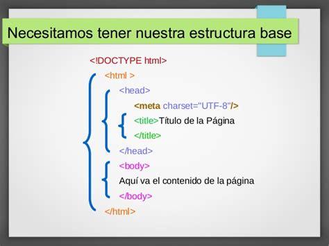imagenes en html 5 etiquetas para estructurar texto html5 2 parte