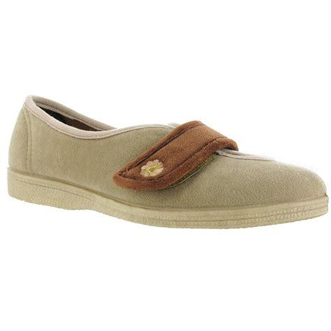 indoor shoes slippers mirak andrea touch fastening womens indoor slipper