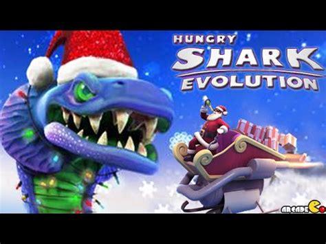 baby shark xmas version hungry shark evolution christmas special santa baby