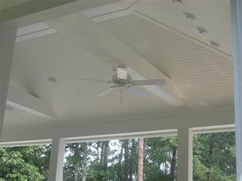 painted beadboard ceiling design patios accessories