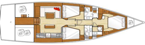 yacht senses layout beneteau sense 55 sailing yacht for sale new boat dealer