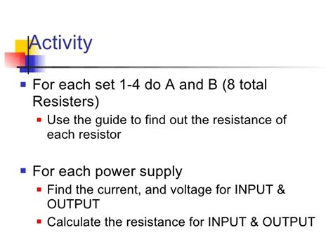 do resistors lower voltage or current do resistors lower voltage or current 28 images