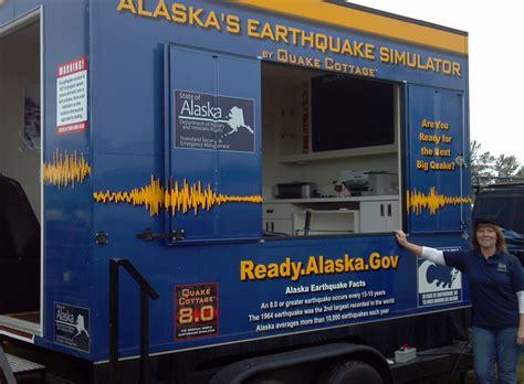 earthquake simulation earthquake simulator will shake up juneau
