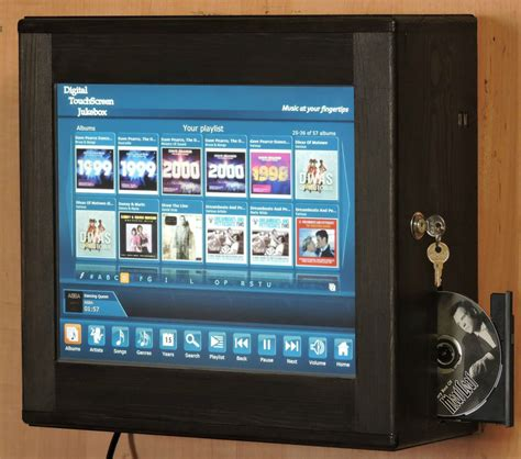 wall mounted touch l digital touchscreen jukebox wall mounted with airplay or