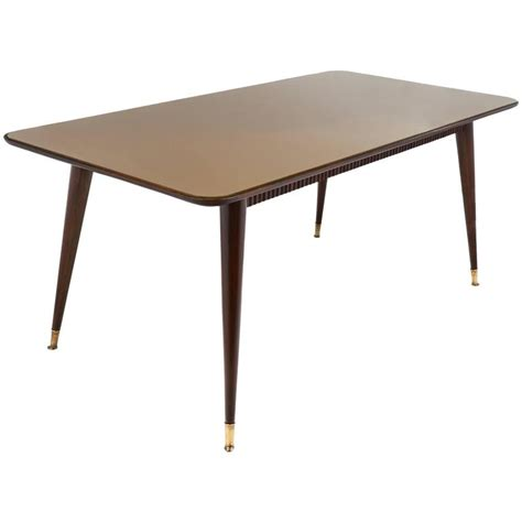 mid century modern italian dining room table for sale at