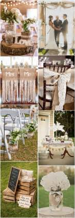 country wedding ideas 45 chic rustic burlap lace wedding ideas and inspiration tulle chantilly wedding