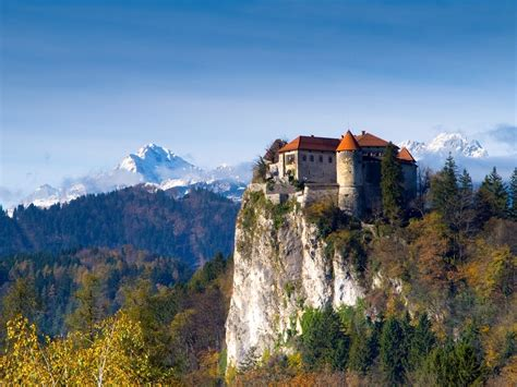 in slovenia bled castle bled