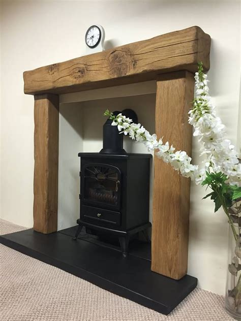 Wooden Beam Fireplace by Best 25 Log Burner Fireplace Ideas On Log Burner Living Room Wood Burner And Wood
