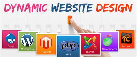 dynamic website design  rs dynamic website design