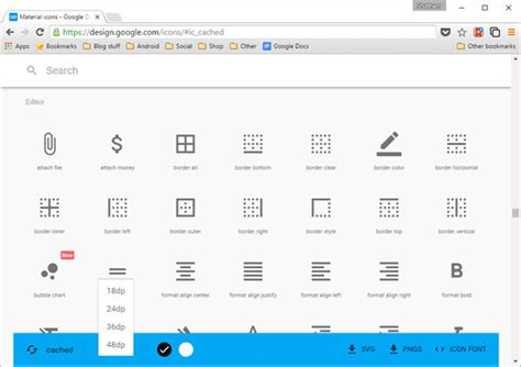 google design editor general download and use free material design icons