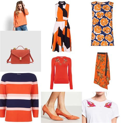 Tips For Wearing Orange by Tips For Wearing Orange Ss18 Jacquardflower