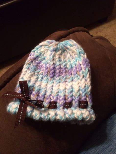 loom knit baby hat 17 best images about knitting loom for babies on
