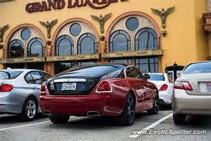 Rolls Royce Houston Tx Rolls Royce Wraith Spotted In Houston On 08 22 2015