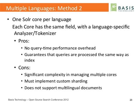 Open Source Search Multilingual Search And Text Analytics With Solr Open Source Search