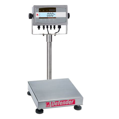 ohaus bench scales ohaus d51xw25wr3 defender 5000 washdown bench scale