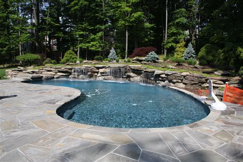 Swimming Pool Garden Ideas Modern Pool Landscaping Ideas With Rocks And Plants
