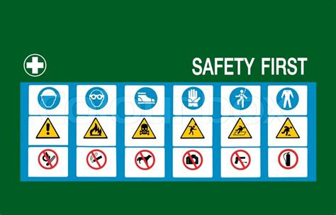 safety first stock image image 35138181 safety first symbol stock photo colourbox
