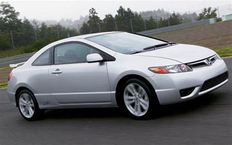 2006 honda civic si first drive road test review motor trend