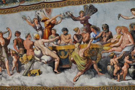 banchetto nuziale villa farnesina roma