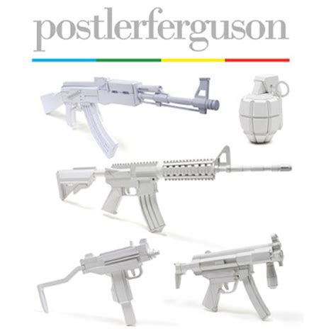 Papercraft Gun - punch papercraft guns link roundup