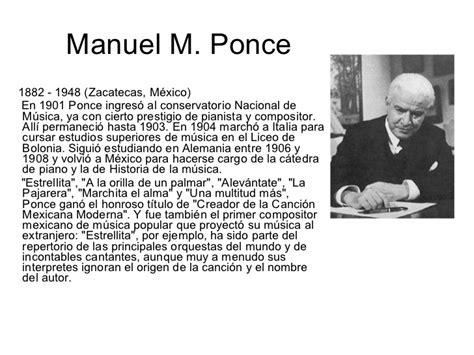 Literatura De M 233 Xico La Enciclopedia Libre Manuel M Ponce Biografa Corta 1 El Arte Realizado En M 233 Xico Por Mexicanos Y