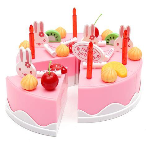 Kitchen Set Cake set of 75pcs birthday cake set pretend play for