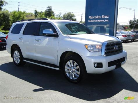 2008 Toyota Sequoia Platinum 2008 Toyota Sequoia Platinum In Arctic Pearl Photo