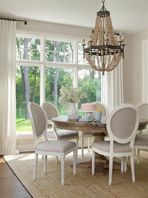 casual dining room curtain ideas