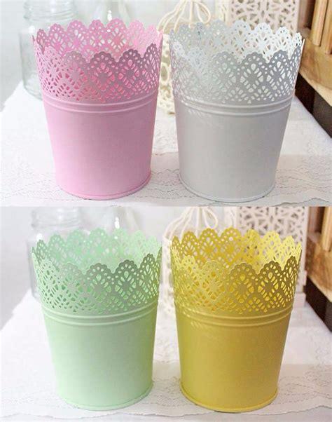 Vas Bunga Kaleng Shabby jual beli vas pot bunga kaleng tincan tin can bunga