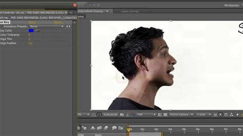 tutorial after effect green screen tutorial after effect cara memotong object tanpa green