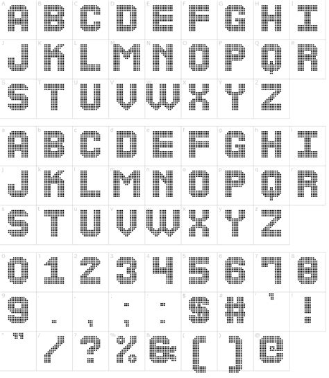 rubber st font generator the led display st font generator