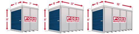 how much do pods storage containers cost portable storage pods rosado movers 650 537 8800