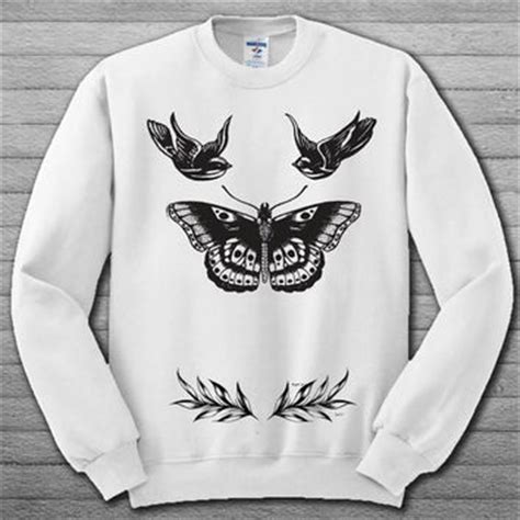 harry styles tattoo hoodie shop harry styles tattoo sweatshirt on wanelo