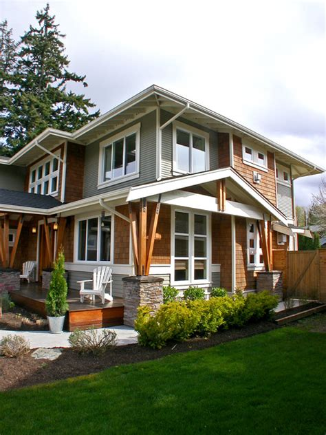contemporary craftsman house mukilteo style