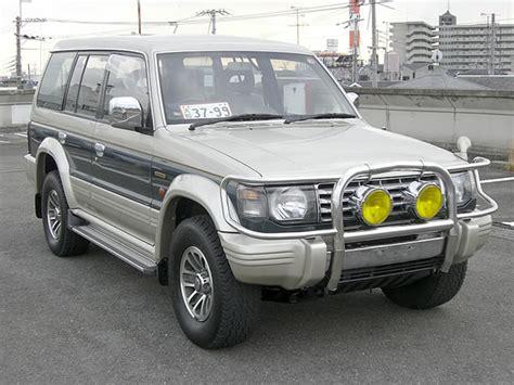 how it works cars 1991 mitsubishi pajero auto manual 1991 mitsubishi pajero partsopen