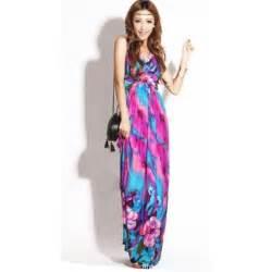 colorful maxi dresses colorful v neck maxi dress