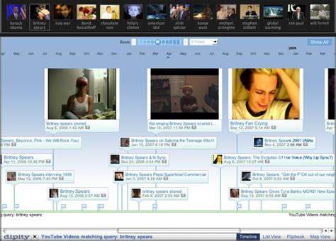 Internet Meme Timeline - folksonomy interactive timeline of internet memes