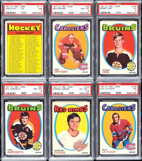 the o chee hockey card story books robert edward auctions 1971 1972 o chee hockey